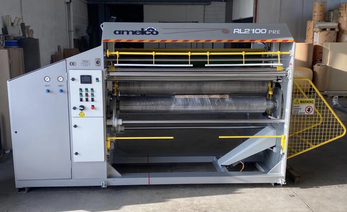 Customized Rollpacking machine to accommodate innerspring units of up to 210cm in width